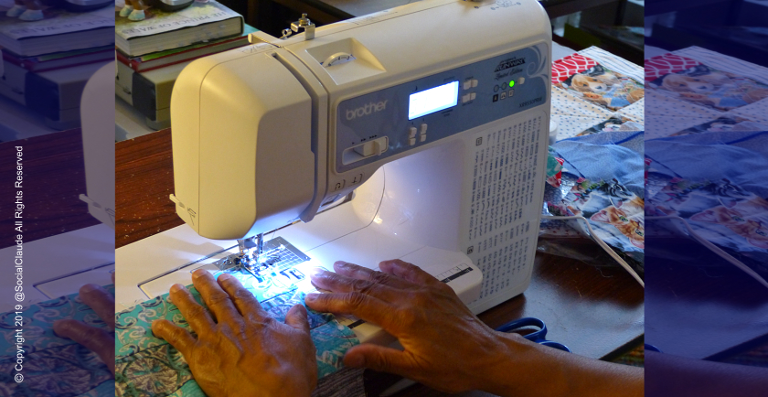 Brother Donates Sewing Machine to Dr. Pet Mom! 🥳